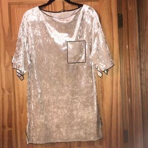 velvet t shirt (long)